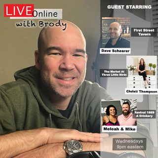 Downtown Clayton NC's Paranormal Population Keeping Spirits High - 'LIVE Online With Brody'