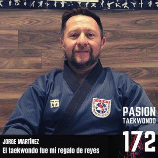 """Jorge Martínez """"El taekwondo fue mi regalo de Reyes Magos"""""""