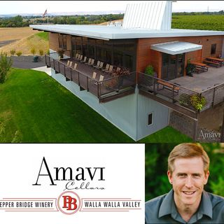 Ep 294: Walla Walla,  Washington's Fathers of the Vine -- Eric McKibben of Pepper Bridge Winery and Amavi Cellars