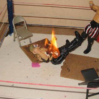 Flaming Table ep08: Making Wrestlemania Look Bad