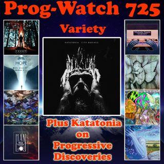 Episode 725 - Variety + Katatonia on Progressive Discoveries