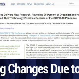 Study: 95% of Organizations Have Changed Tech Priorities Due to Pandemic | TWiT Bits