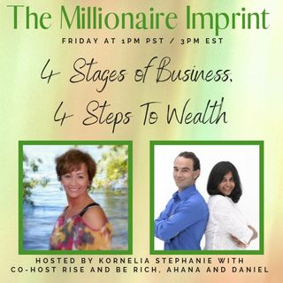 """4 Stages of Business, 4 Steps To Wealth"" With Rise and Be Rich"