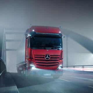Mercedes-Benz Trucks presenta i nuovi Actros F e L
