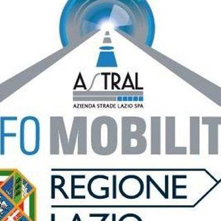 Viabilità Roma Regione Lazio del 23-07-2019 ore 20:30