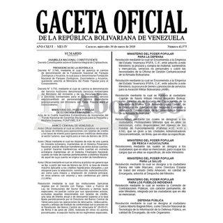 Audio del Decreto Constituyente Sobre el Sistema Integral de Criptoactivos Gaceta No. 41.575 del 30 de enero de 2019
