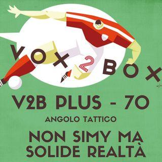 Vox2Box PLUS (70) - Angolo Tattico: Non Simy Ma Solide Realtà