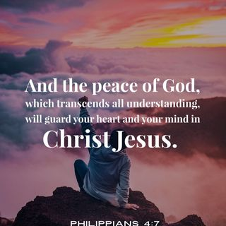 How to Experience God's Peace that Surpasses All Understanding Through Christ.