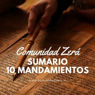 Sumario de los 10 mandamientos