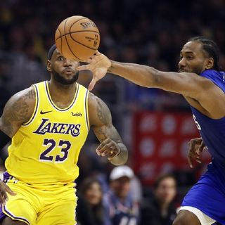 Leonard leads Clippers over LeBron and Lakers 112-102| Is leBron showing signs of aging or rusty?