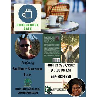 Conquerors Cafe Author Spotlight Featuring Author Karson Lee