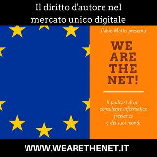 8 - Il diritto d'autore nel mercato unico digitale