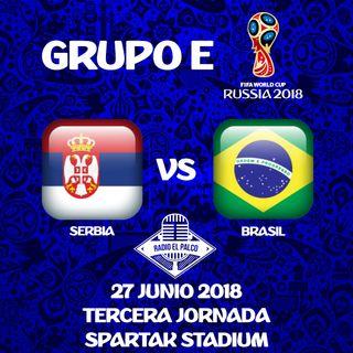 Serbia vs Brasil en VIVO