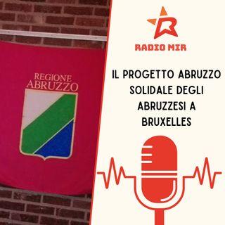Il progetto di Abruzzo Solidale degli abruzzesi a Bruxelles
