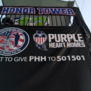 I Heart Radio Purple Heart Homes
