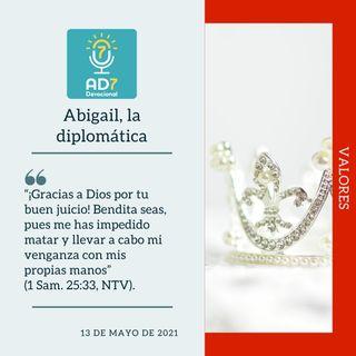 13 de mayo - Abigail, la diplomática - Devocional de Jóvenes - Etiquetas Para Reflexionar