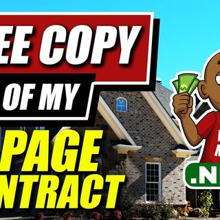 Download a Free Copy of My 1 Page Contract I've Wholesaled House after House after House