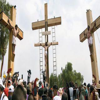 Se suspende la 177 representación de la Pasión de Cristo en Iztapalapa.