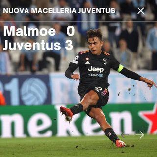 Malmoe - Juve: torna la vittoria e con lei i tanto attesi sbadigli del secondo tempo.