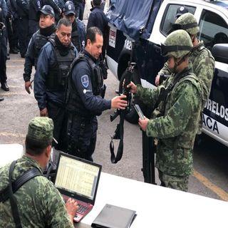 El ejército asume seguridad en Morelos