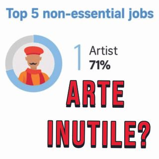 """L'utilità dell' Arte. con """"CENTOCANI"""""""