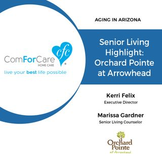 12/3/17: Kerri Felix and Marissa Gardner with Orchard Pointe at Arrowhead | Senior Living Highlight: Orchard Pointe at Arrowhead