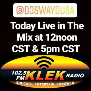 Live @ 12noon and 5pm CST on KLEK 102.5 FM Jonesboro Arkansas #7