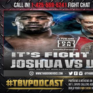 ☎️ Anthony Joshua vs Oleksandr Usyk🔥Live Fight Chat Results and Analysis❗️