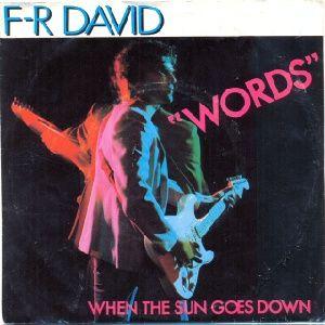 F-R David WORDS