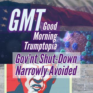 GMT Gov Shutdown Narrowly Avoided