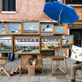 #milano Banksy at Venice