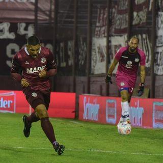 Gol de Lanús: José Sand 1-0