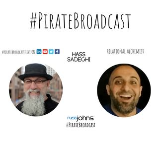 Catch Hass Sadeghi on the PirateBroadcast