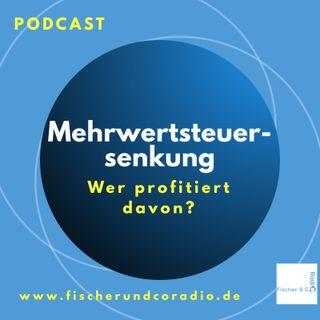 Podcast Mehrwertsteuersenkung 2020
