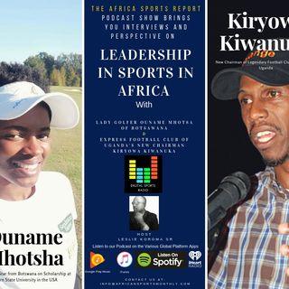 Leadership In Sports in Africa