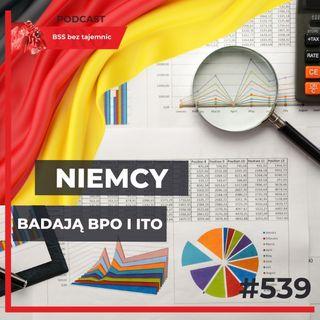#539 NIEMCY analizują trendy outsourcingowe