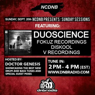 Doctor Genesis - NCDNB Sunday Sessions - Duoscience Guest Mix