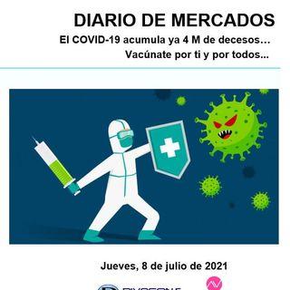DIARIO DE MERCADOS Jueves 8 Julio