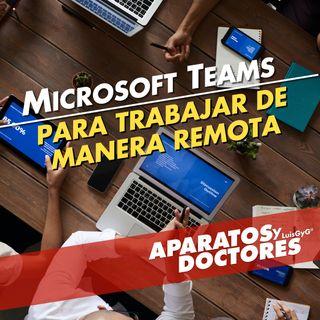 Trabaja remotamente con Microsoft Teams