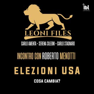 Cosa cambia negli USA? Incontro con Roberto Menotti sulle elezioni americane - LeoniFiles