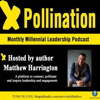 XPollination (Ep. 18) - Special Guest Dan Schawbel LIVE from the #VTSHRM15 Conf.