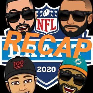 Episode #37 2020 NFL Draft recap with @Jwalk_live , @brandonsview_ and @Mr_V305
