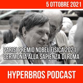 Nobel per la Fisica a Giorgio Parisi, la Cerimonia alla Sapienza