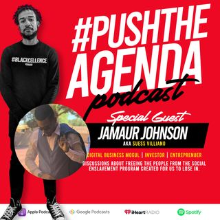 Jamaur Johnson aka Suess Villiano - Digital Investing, Bitcoin, Legacy & Branding