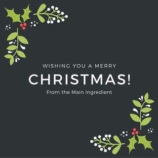 The Main Ingredient Ep.10 - Christmas Special Pt.1 - Seafood & Coffee Choices For The Big Day