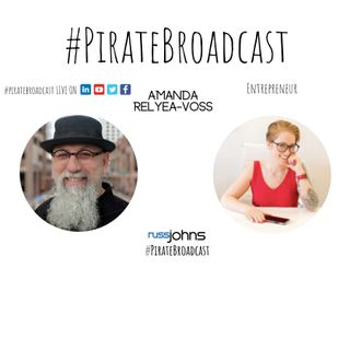 Catch Amanda Relyea Voss on the PirateBroadcast