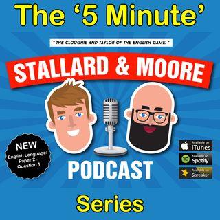 English Language - P2 Q1 (5 mins-ish series)