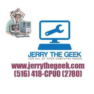 JERRY THE GEEK COMMERCIALS