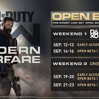Call of Duty Modern Warfare tendrá beta abierta! Desvelada su fecha y disponibilidad