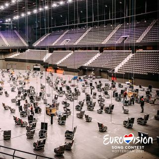 Comienzan las obras en el escenario del Ahoy - Eurovisón 2021 Ep.11 T.2